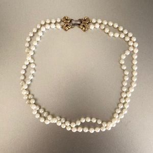 Vintage pearl necklace - gently worn
